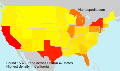 Surname Irene in USA