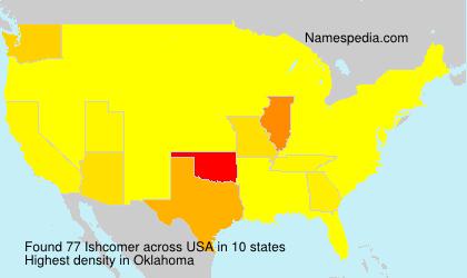 Surname Ishcomer in USA