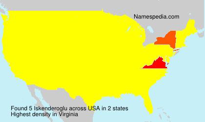 Iskenderoglu - USA