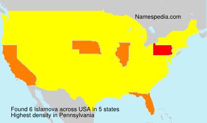 Islamova - USA