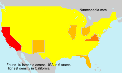 Surname Ismaela in USA