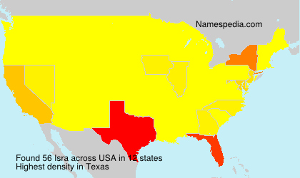 Surname Isra in USA