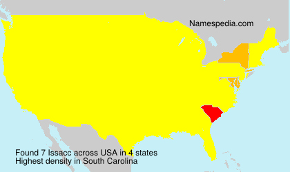 Surname Issacc in USA