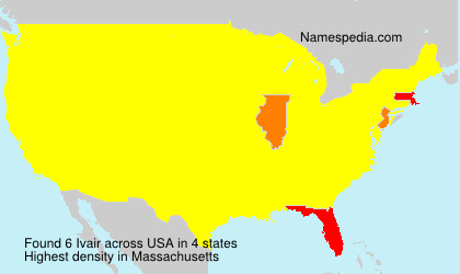 Surname Ivair in USA