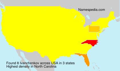 Surname Ivanchenkov in USA