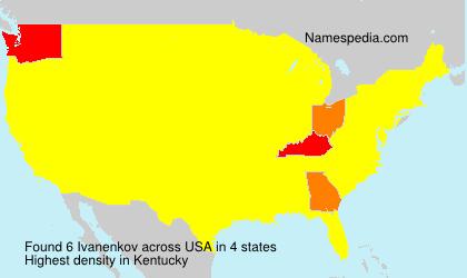 Surname Ivanenkov in USA