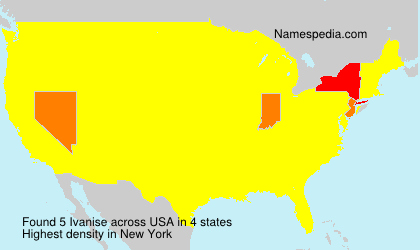 Surname Ivanise in USA