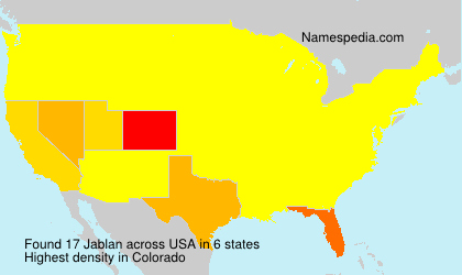 Surname Jablan in USA