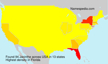 Surname Jacinthe in USA