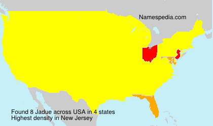Surname Jadue in USA