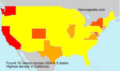 Surname Jaeson in USA