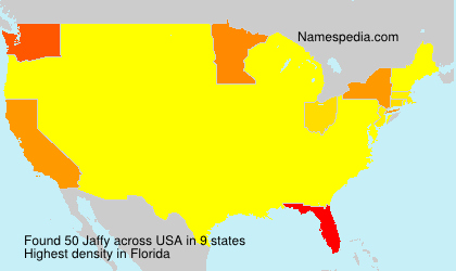Surname Jaffy in USA