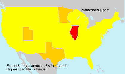 Surname Jagas in USA