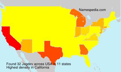 Surname Jagdev in USA