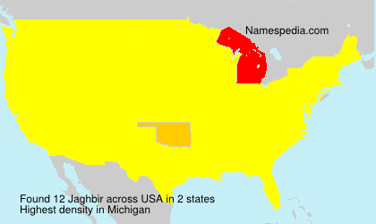 Surname Jaghbir in USA