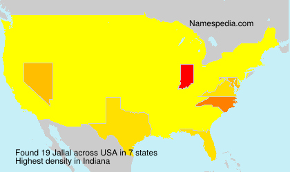 Surname Jallal in USA