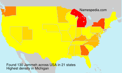 Surname Jammeh in USA