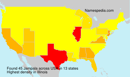Surname Jampala in USA