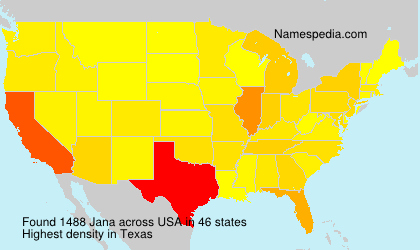 Surname Jana in USA