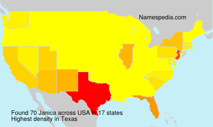 Surname Janica in USA