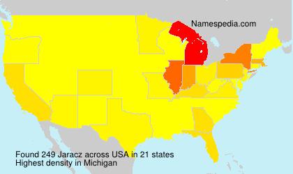 Surname Jaracz in USA