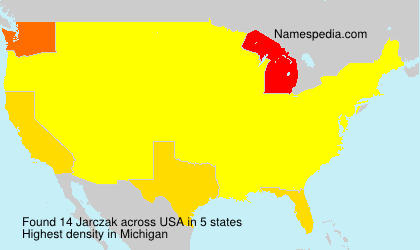 Surname Jarczak in USA