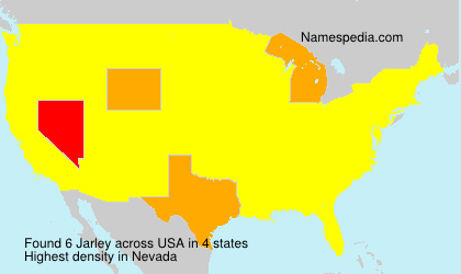 Surname Jarley in USA