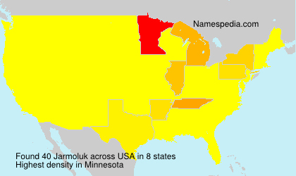 Surname Jarmoluk in USA