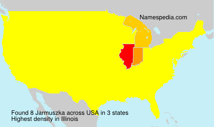 Surname Jarmuszka in USA