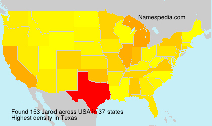 Surname Jarod in USA