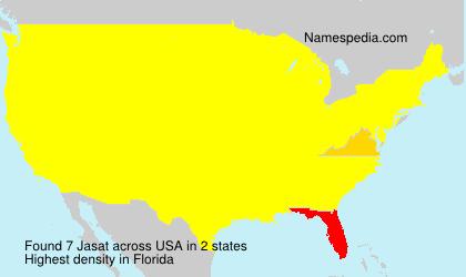 Surname Jasat in USA