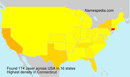 Surname Jaser in USA