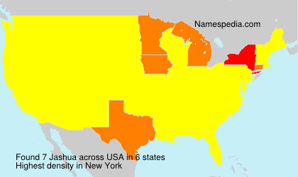 Surname Jashua in USA