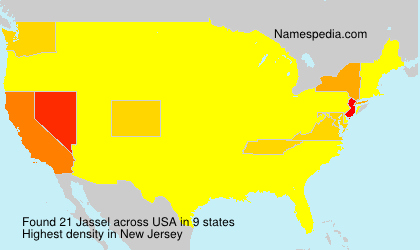 Surname Jassel in USA