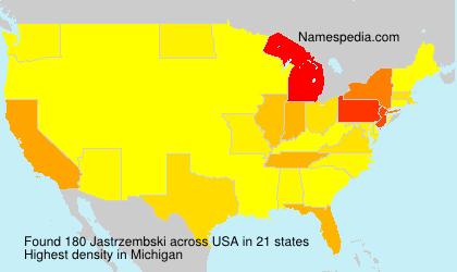 Surname Jastrzembski in USA