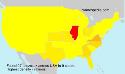 Surname Jaszczuk in USA