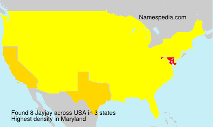 Surname Jayjay in USA