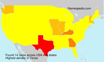 Surname Jayla in USA