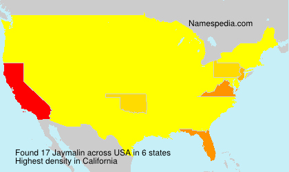 Surname Jaymalin in USA