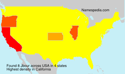 Surname Jbour in USA