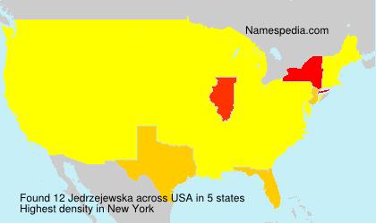 Surname Jedrzejewska in USA