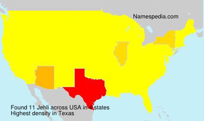 Jehli - USA