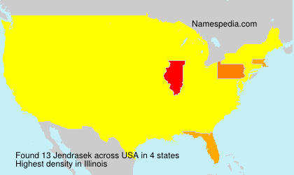Surname Jendrasek in USA