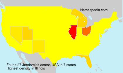 Familiennamen Jendrzejak - USA