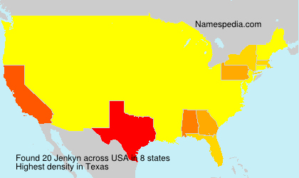 Surname Jenkyn in USA