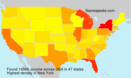 Surname Jerome in USA