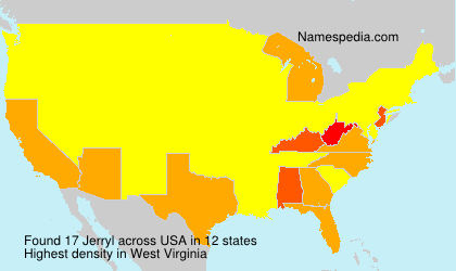 Surname Jerryl in USA