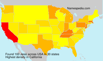 Surname Jessi in USA