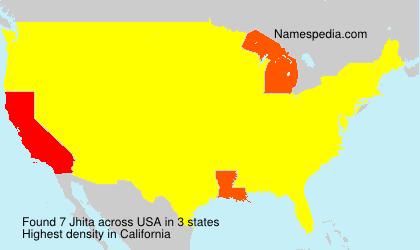 Surname Jhita in USA