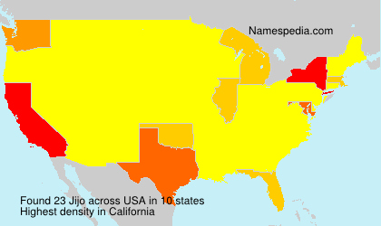 Surname Jijo in USA